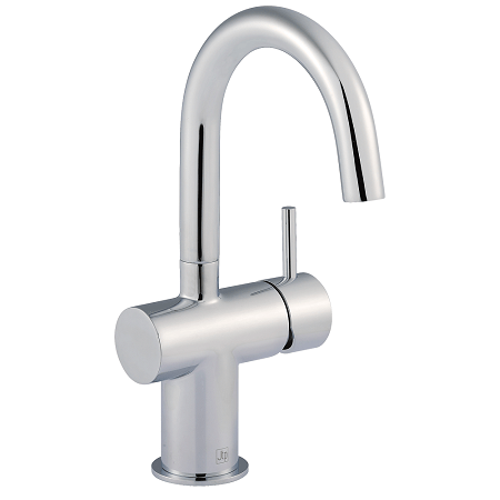 Just Taps Plus Florence Chrome Side Lever Basin Mixer-0