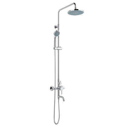 Just Taps Plus Florence Exposed Shower Kit With Bath Spout MUL2-0