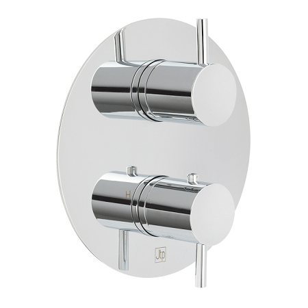 Just Taps Plus Florence Thermostatic Concealed 2 Outlet Valve-0