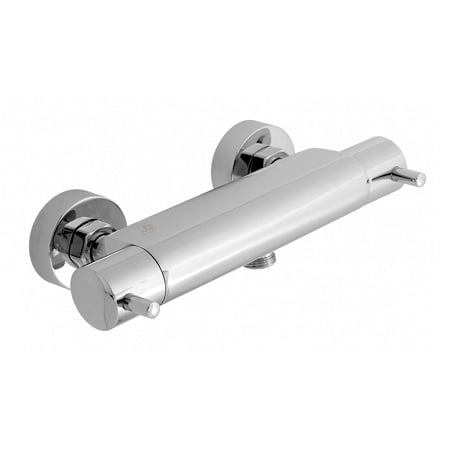 Just Taps Plus Florence Wall Mounted Thermostatic Bar Valve-0