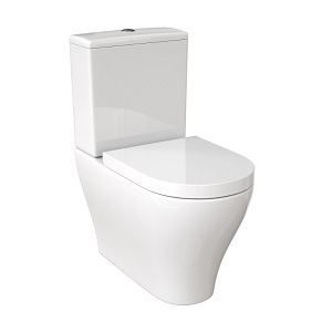 Saneux Prague Standard Soft Close Seat For C/C Toilet-13878