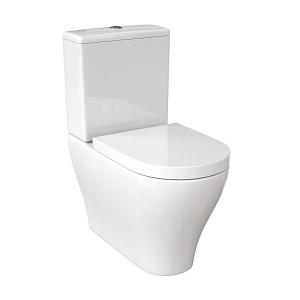 Saneux Prague Slim Soft Closing Seat For C/C Pan PR098-13881
