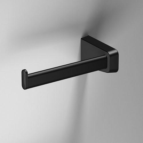 Sonia S6 Black Open Left Toilet Roll Holder 166480-0