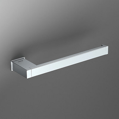 Sonia S Cube Wall Mounted Open Towel Bar 166824-0