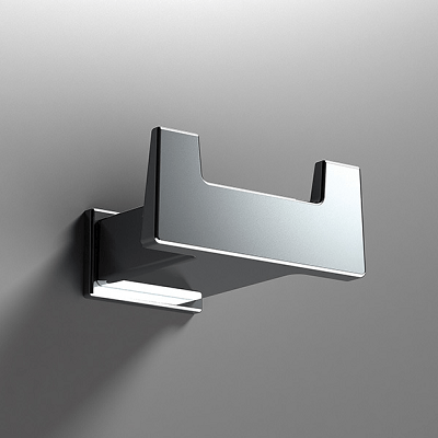 Sonia S Cube Wall Mounted Double Robe Hook 166817-0