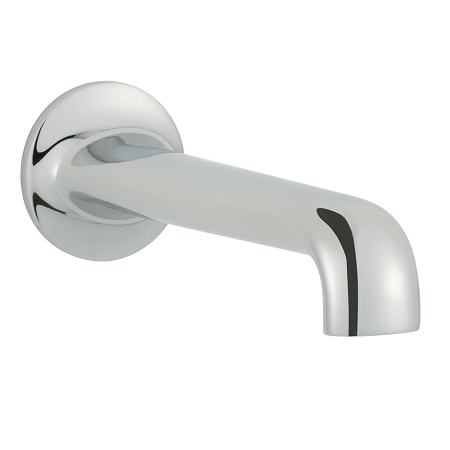 Just Taps Plus Grosvenor Cross Chrome Bath Spout-0