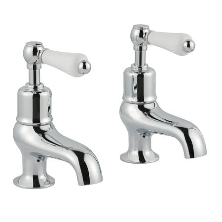Just Taps Plus Grosvenor Lever Chrome Bath Taps -0