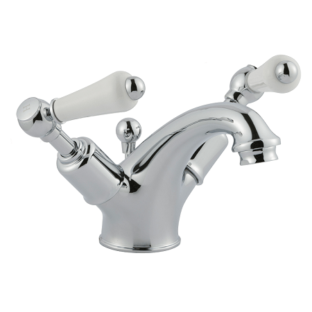 Just Taps Plus Grosvenor Lever Basin Monobloc With Waste-0