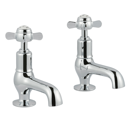 Just Taps Plus Grosvenor Pinch Cloakroom Basin Taps-0