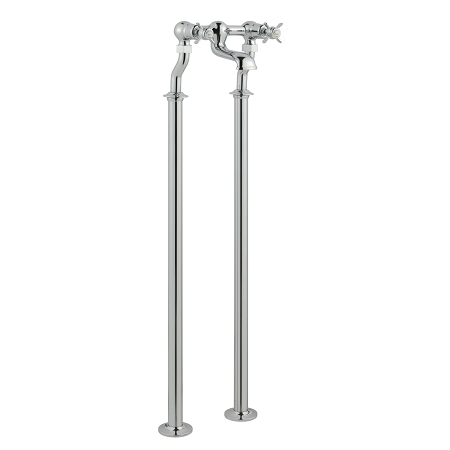 Just Taps Plus Grosvenor Pinch Deck Mounted Bath Filler-14375