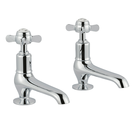 Just Taps Plus Grosvenor Pinch Long Nose Basin Taps-0