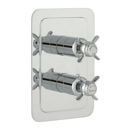 Just Taps Plus Grosvenor Pinch Thermostatic 1 Outlet Valve-0