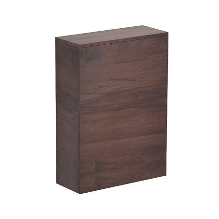 Saneux Austen Back to Wall Pacific Walnut Unit 50.5 X 20cm-0