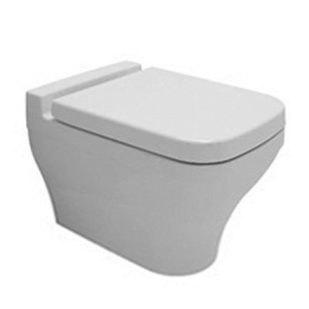 Saneux Indigo Back to Wall WC Toilet and Seat 70114 70112-0
