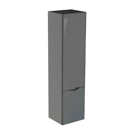 Saneux Indigo 1400x350mm Tall Grey Gloss Side Unit-0