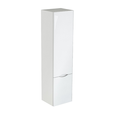 Saneux Indigo 1400x350mm Tall White Gloss Side Unit-0