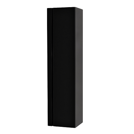 Saneux Matteo 1200 x 300mm Black Gloss Handless Side Unit-0