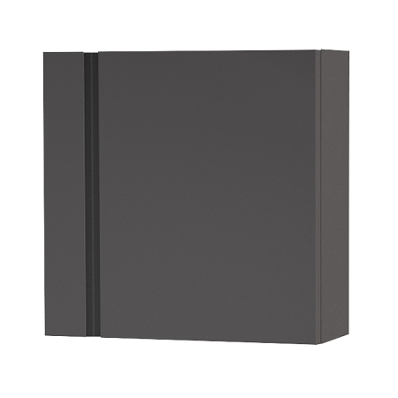Saneux Matteo 1200 x 300mm Grey Gloss Handless Small Unit-0