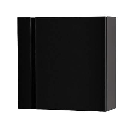 Saneux Matteo 400 x 400mm Black Gloss Handless Small Unit-0