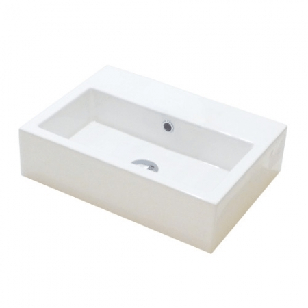 Saneux Matteo 50 x 37cm No Tap Hole Washbasin 39001.0-0