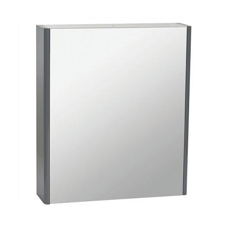Saneux Matteo 50 x 70cm Golden Oak Mirrored Cabinet-0