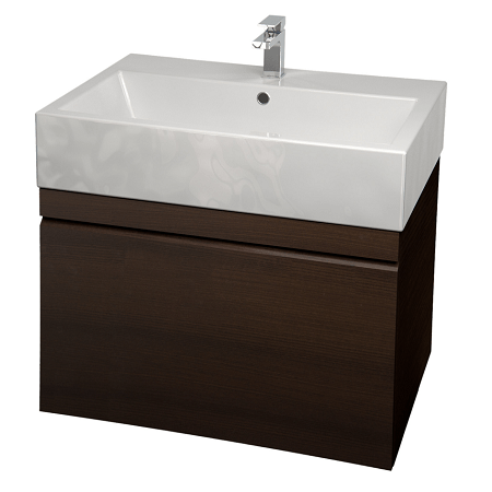Saneux Matteo 60cm Wall Hung Wenge Handless Unit-0