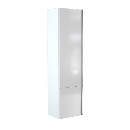 Saneux Prague 150 x 40cm Tall White Gloss Side Unit-0