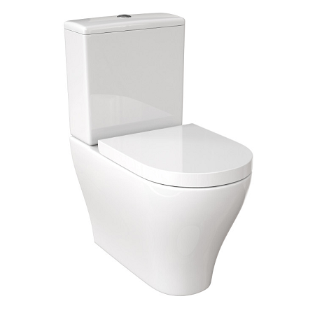 Saneux Prague Close Coupled WC Pan Only -0