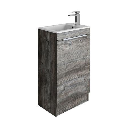 Bauhaus Zion Driftwood Floor Standing 50cm Unit-0