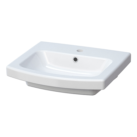 Saneux I-Line 50 x 43cm One Tap Hole Washbasin 60620-0