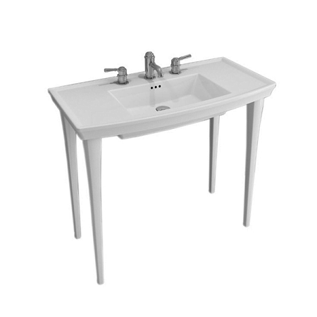 Saneux Plaza 100 x 50cm One Tap Hole Washbasin 60703-0
