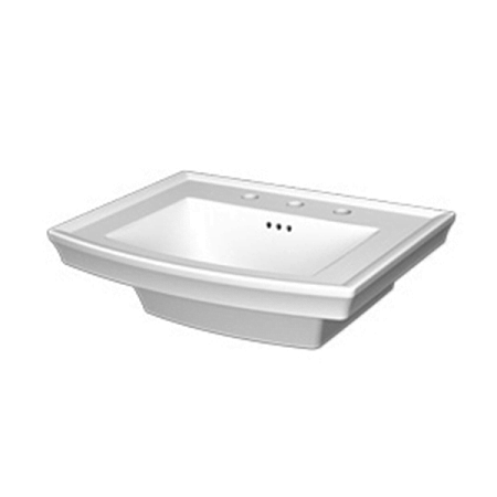Saneux Plaza 60 x 50cm One Tap Hole Washbasin 60701-0