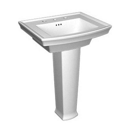 Saneux Plaza Ceramic 740mm Basin Pedestal 60710-0