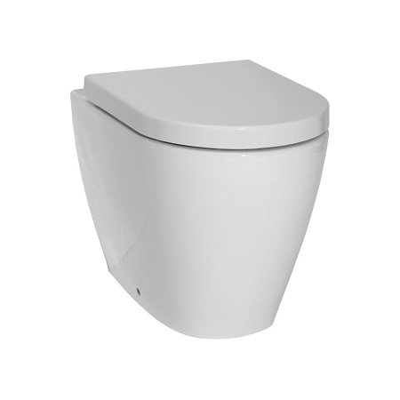 Saneux Uni 55cm Back To Wall Pan With Soft Close Seat-0