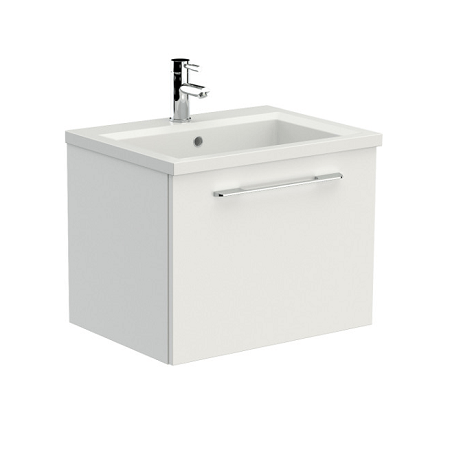 Saneux X_ACT 60 x 46cm One Tap Hole Washbasin XA60-0