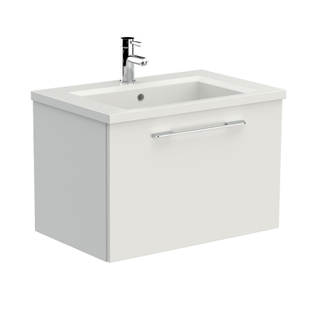 Saneux X_ACT 72 x 46cm One Tap Hole Washbasin XA72-0