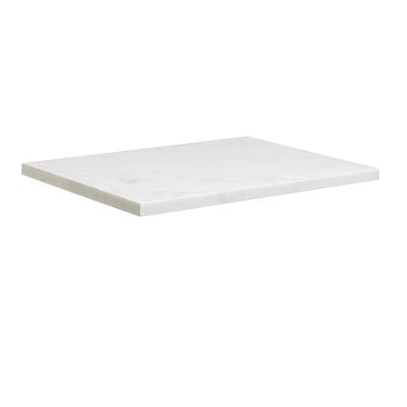 Bauhaus Glide II 700mm Carrara Marble Veined Effect Worktop-0
