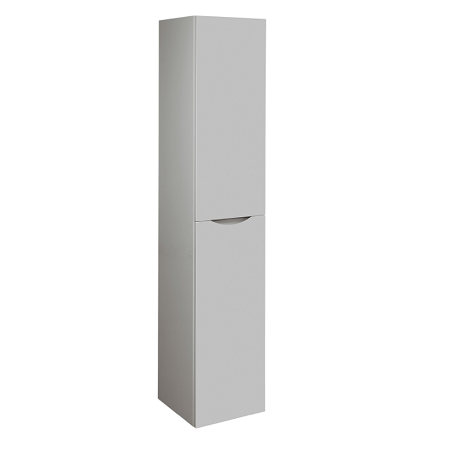 Bauhaus Glide II Tall Wall Hung Storm Grey Tower Storage Unit-0