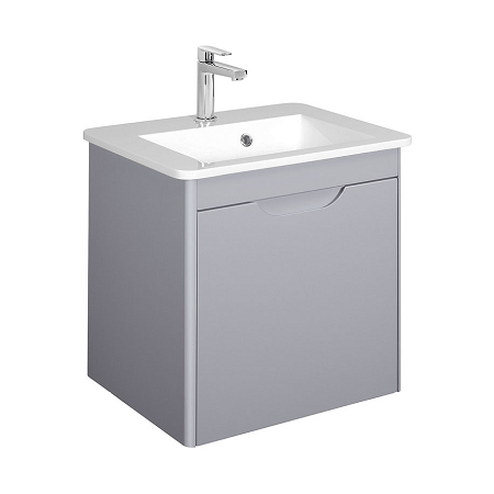 Bauhaus Solo 50cm Quartz Wall Mounted Vanity Unit-0