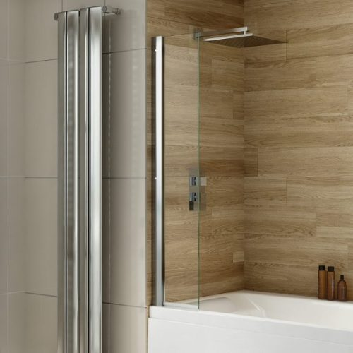 .dilusso .dBATHSCREEN 250mm Wide Panel Short Bath Screen Shield-0