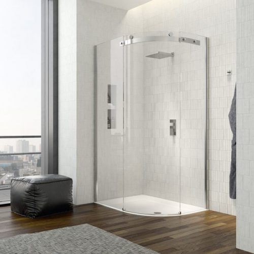 .dilusso .dTEN 1 Door Offset Quad 800mm x 1200mm Shower Door-0