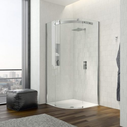 .dilusso .dTEN 1 Door Quadrant 900mm Shower Door-0