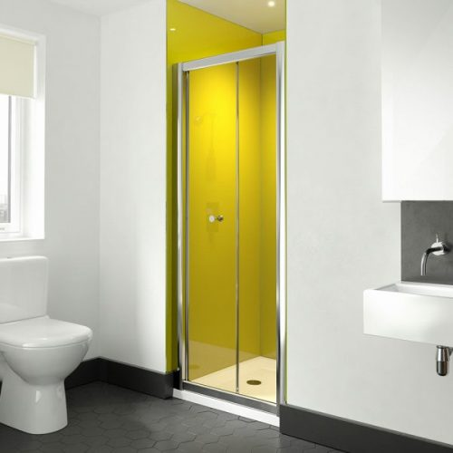 .dilusso .dTWO Bifold Door 700mm Shower Door-0