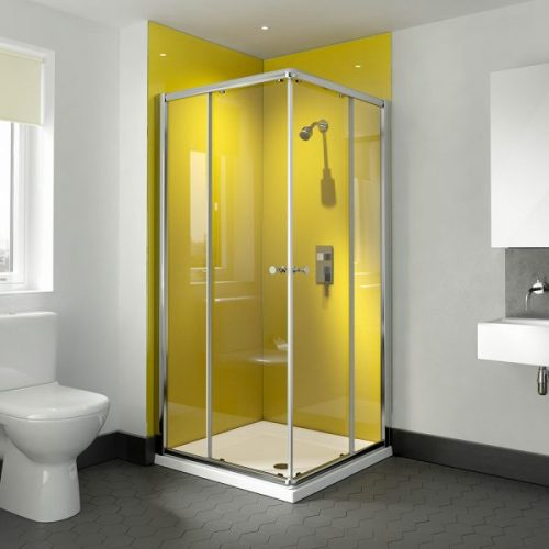 .dilusso .dTWO Corner Entry Door 760mm Shower Door-0