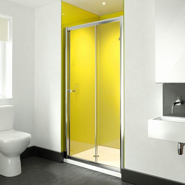 dTWO Sliding Door 1200mm Shower Door-0 . & dilusso .dTWO Sliding Door 1200mm Shower Door