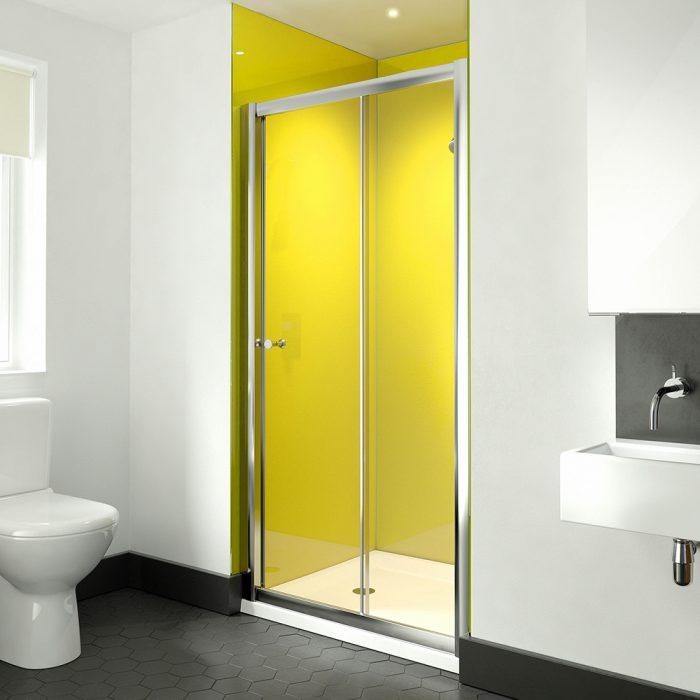 .dilusso .dTWO Sliding Door 1400mm Shower Door-0