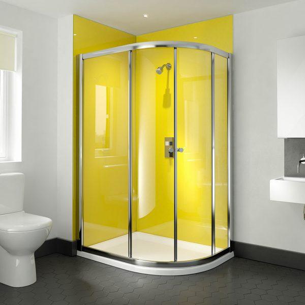 .dilusso .dTWO 2 Door Offset Quadrant 900mm x 1200mm Shower Door-0