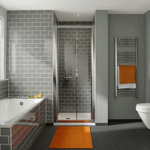 .dilusso .dFOUR 6mm Bifold Door 700mm Shower Door-0