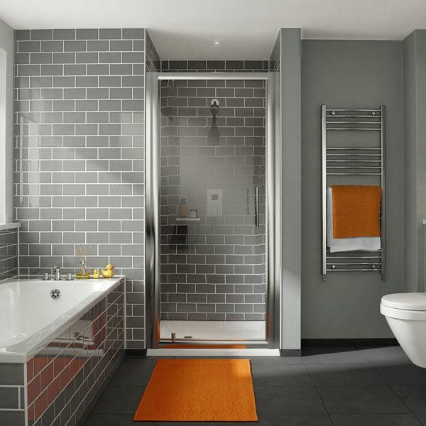 .dilusso .dFOUR 6mm Pivot Shower Door 760mm Shower Door-0