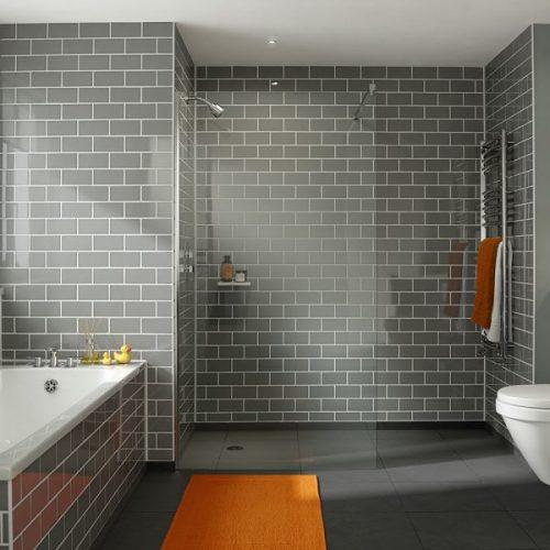 .dilusso .dFOUR Wetroom Shower Screen 600mm Shower Door-0